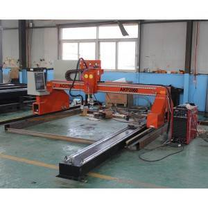 Gantry type cnc plasma metal cutter AKP2060