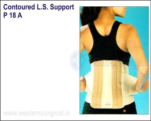 Contoured L.S. Support