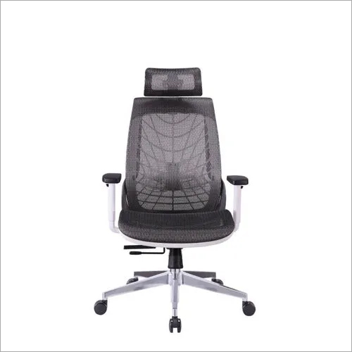Spider chair with headrest