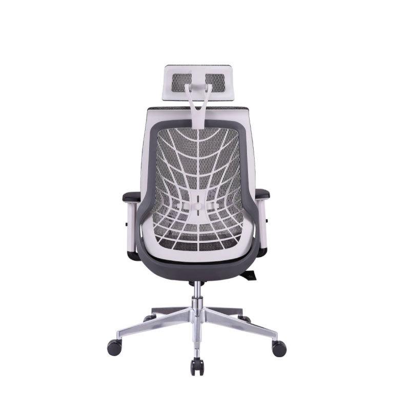 Spider chair with headrest