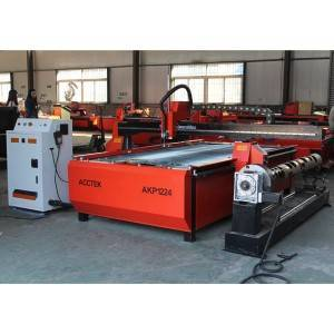 CNC METAL STEEL PLATE CUTTER CNC PLASMA CUTTING MACHINE AKP1224