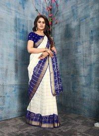 Gharchola Panetar Cotton saree