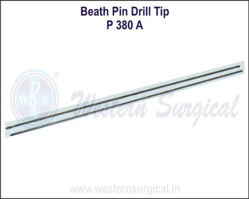 Beath Pin Drill Tip
