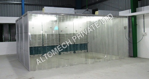 paint booth dust collector