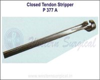Closed Tendon Stripper