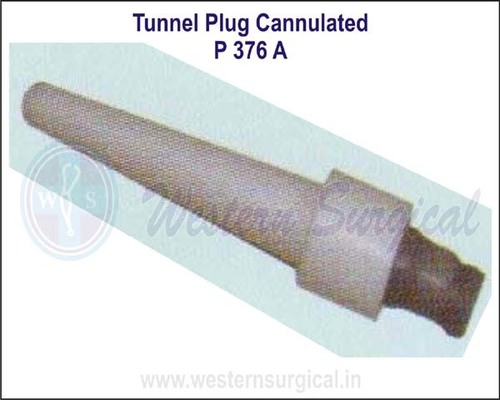 Tunnel Plug Cannulated