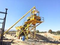 Twin Shaft Concrete Batching Plant