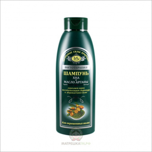 500 ML Henna And Argan Oil Shampoo