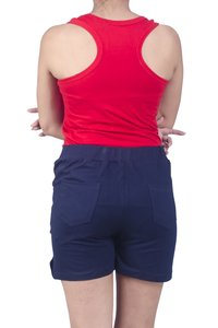 Cotton High Caliber Hot Pant