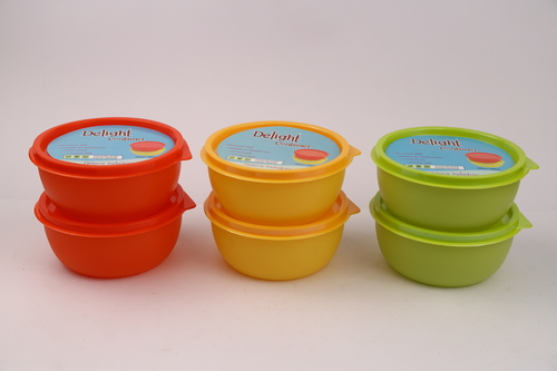 Delight Plastic Containers