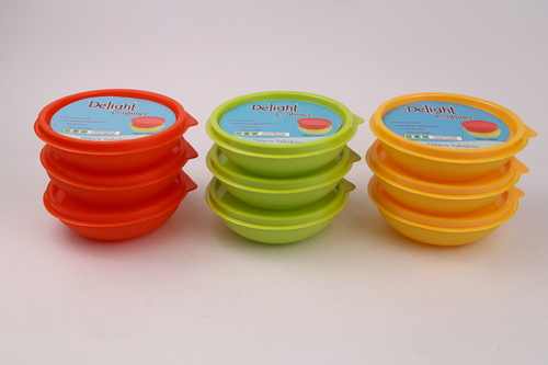 Delight Plastic Container
