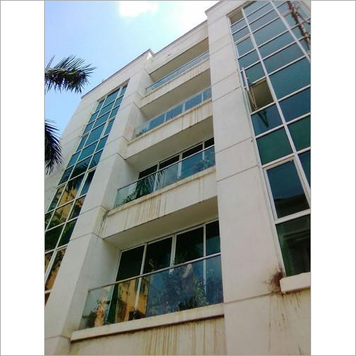Aluminium Curtain Wall & Steel Railing
