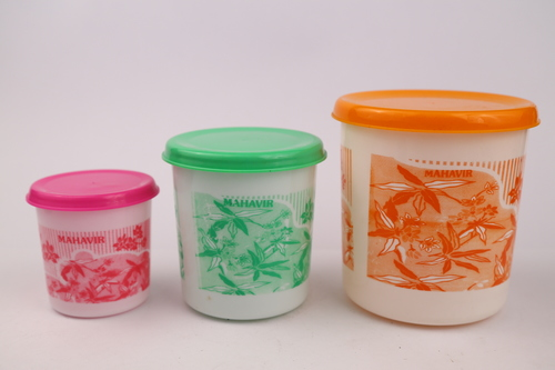Beeta Plastic Containers (3 Pcs Set)