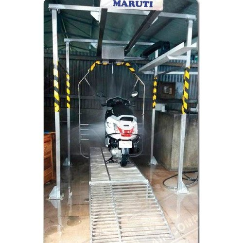 Two Wheeler Washing System