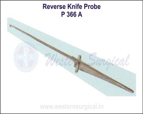Reverse Knife Probe