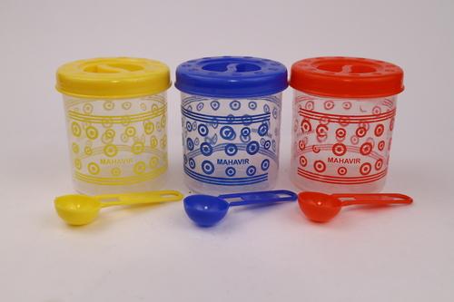 Micro 11 (3 Pcs Set) Plastic Spice Container