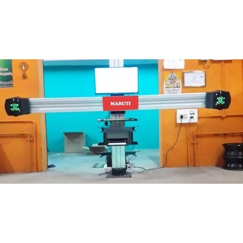 3D Wheel Alignment Machine Ranges