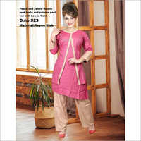 Double Layer Kurti With Palazzo