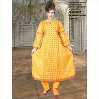 Ladies Printed Kurti With Pant