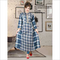 Ladies Rayon Straight Kurti