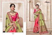 Banarasi Silk Heavy Embroidered Saree