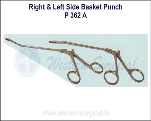 Right & Left Side Basket Punch