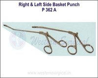 Right & Left Side Basket Punch