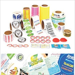 Paper And PVC Label