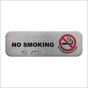 Aluminium Embossed Label