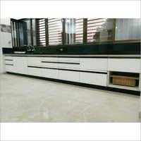 Modular Straight Wooden Kitchen