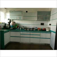 U Shape Modular Wooden Kitchen