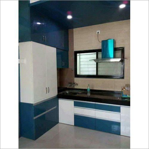 Laminated Modular Wooden Kitchen