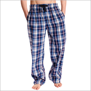 Mens Checked Pyjamas