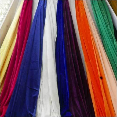 Lycra Velvet Wedding Decor Fabric