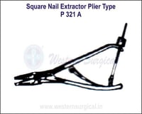 SQUARE Nail Extractor Plier Type