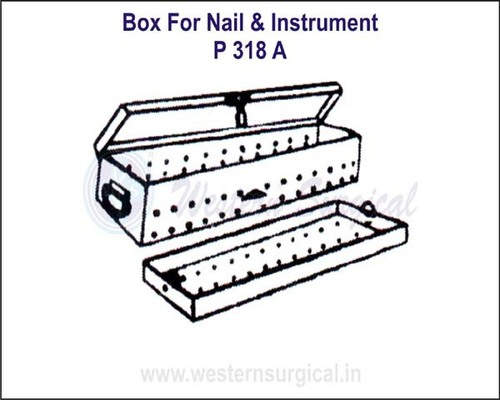 Box for Nail & Instrument