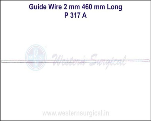 Guide Wire 2 mm 460 mm Long