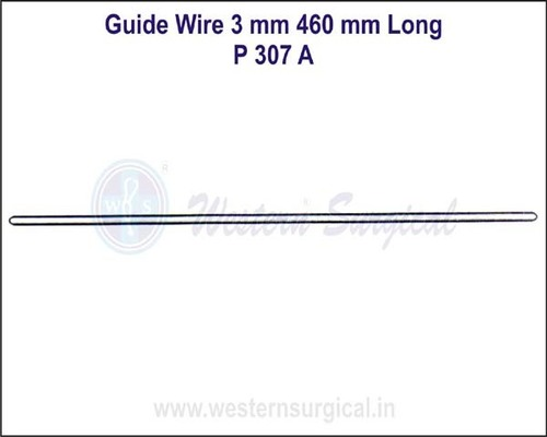 Guide Wire 3 mm 460 mm Long