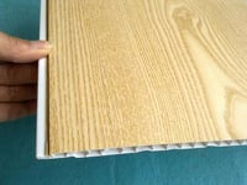 False Wood PVC Wall Cladding Panels