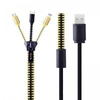3 IN 1 Zipper Usb Cable-Model
