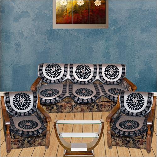 Designer Printed Sofa Cover Set