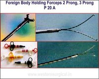 Foreign Body Holding Forceps 2 Prong, 3 Prong