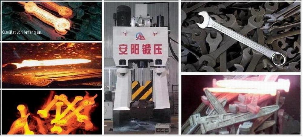 100 Numerical Closed Die Forging Hammer Machine