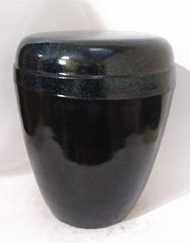Iron Cremation Urn- Black