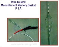 Wire Guided Monofilament Memory Basket