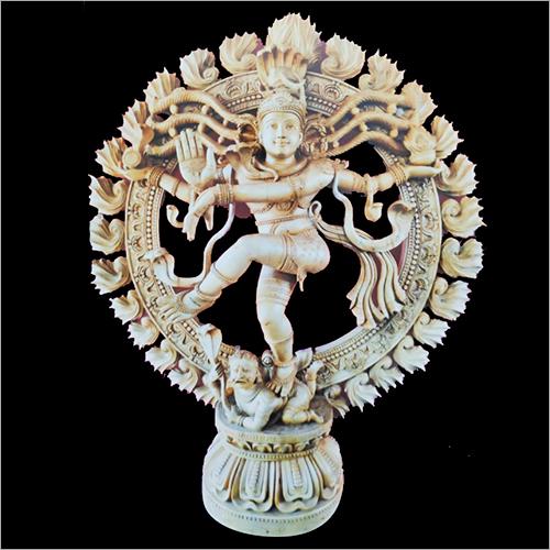 Wooden Nataraja Idol