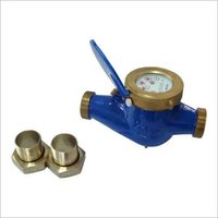 Cast Iron Body Wet Type Cold Brass Water Meter
