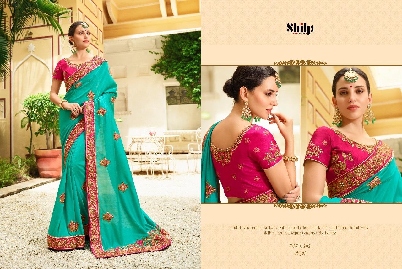 Emboidered Silk Saree