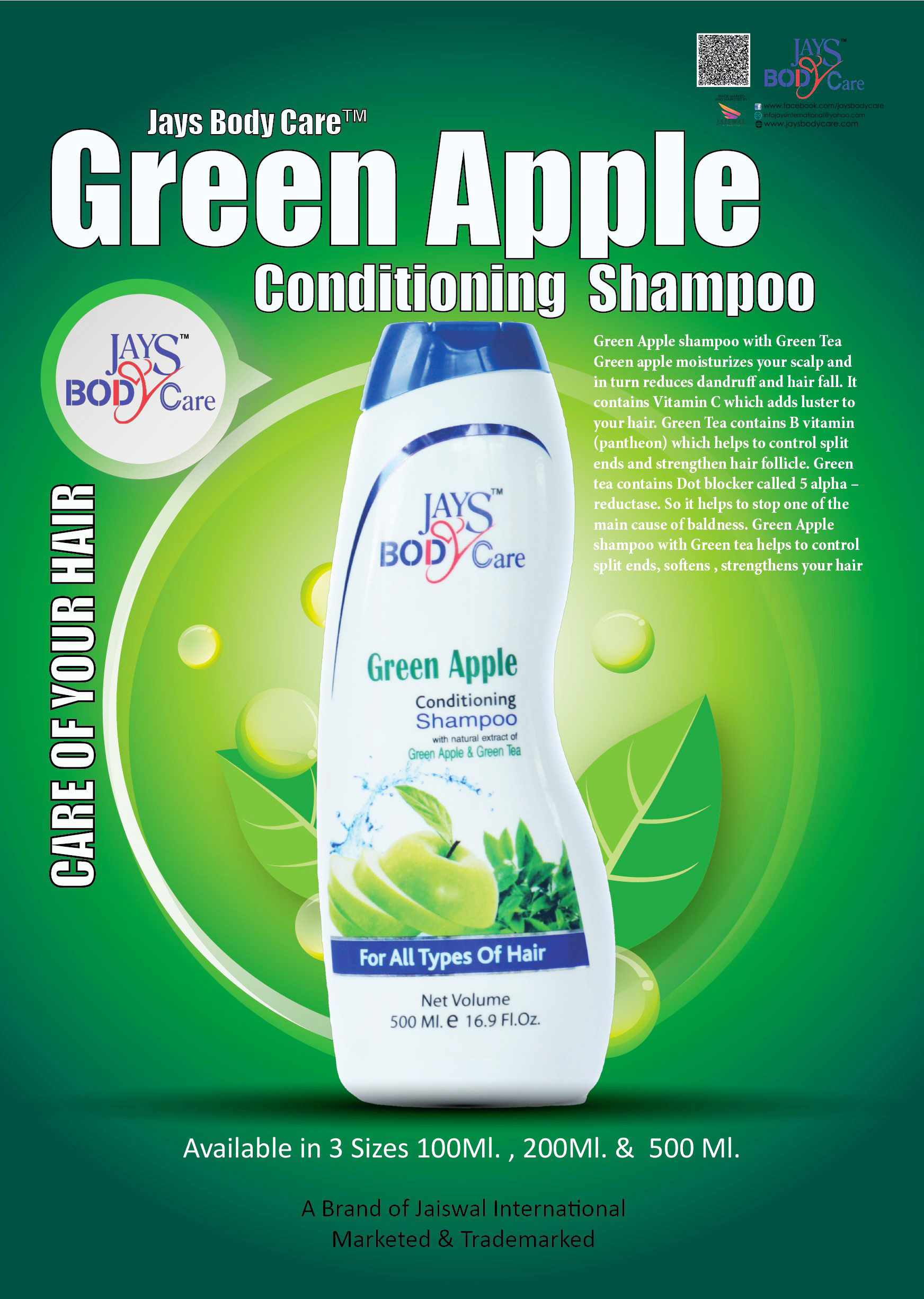 Jays shampoo with conditioning