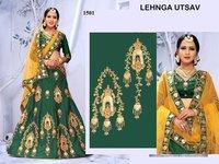 Embroidered Wedding Lehenga